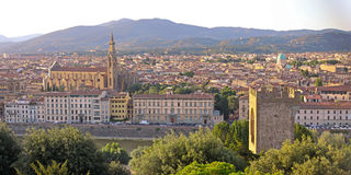 Florence (Firenze) Italy city view Stock Images