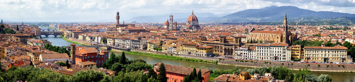 Florence - firenze - italy. Old town of florence - firenze in italy stock images