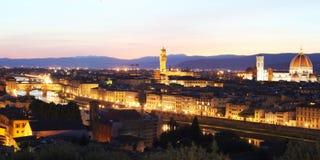 Florence (Firenze) skyline Stock Photos