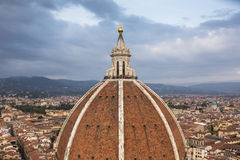 Florence (Firenze, Tuscany, Italy): Famous Santa Maria del Fiore cathedrall, Duomo Stock Image