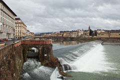 Florence: Fiume Arno Stock Images