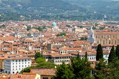 Florence. Fort Belvedere. Royalty Free Stock Photos