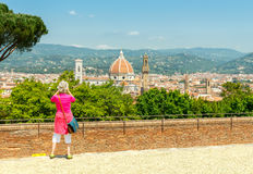Florence Fortbelvedere Stock Foto's