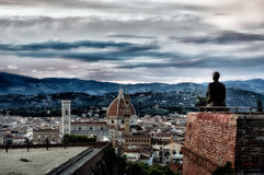 Florence Forte Belvedere II Royalty Free Stock Images