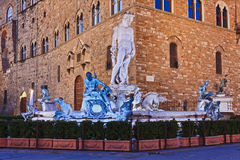Florence Fountain royalty-vrije stock afbeelding
