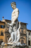Florence, Fountain of Neptune Stock Photography