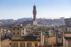 Florence från höjd Royaltyfri Foto