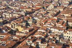 Florence från höjd Royaltyfri Bild