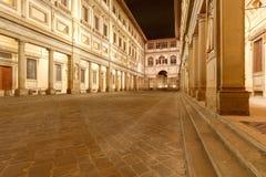 Florence Galerie Ufizzi Image libre de droits