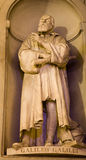 Florence - Galileo Galilei statue Royalty Free Stock Photos