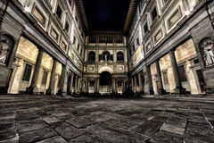 Florence Gallerie degli Uffizi. Tuscany My city My love Stock Image