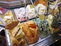 Florence Gelateria Stock Photography