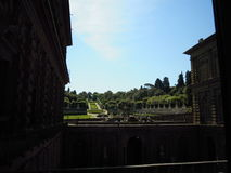 Florence Giardino di Boboli Foto de Stock