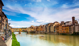 Florence, Gold (Ponte Vecchio) Bridge Royalty Free Stock Images