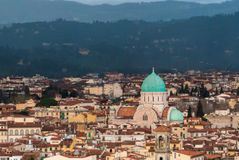 Florence, Great Synagogue Royalty Free Stock Photo