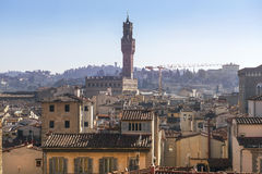 Florence from height Royalty Free Stock Photo