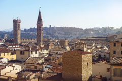 Florence from height Stock Photo