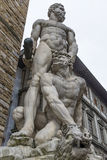 Florence Hercules and Cacus Royalty Free Stock Photography