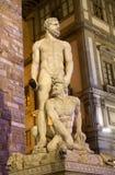Florence - Hercules en Caco stock afbeelding
