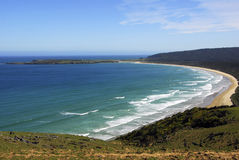 Florence Hill Lookout - Catlins Stock Image