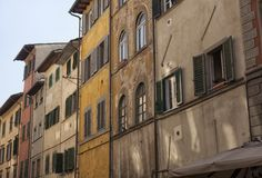 Florence. City landscape. places of Interest. Attractions. Florence. The historical center of the old city Stock Photography