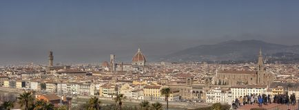 Florence. City landscape. places of Interest. Attractions. Florence. The historical center of the old city Stock Photo