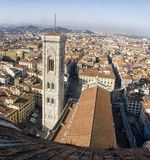 Florence. City landscape. places of Interest. Attractions. Florence. The historical center of the old city Royalty Free Stock Photography