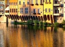 Florence Historical-huizen Stock Foto