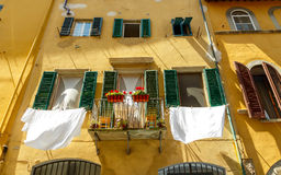 Florence. The house on the hill of Boboli Royalty Free Stock Images
