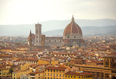 Florence. Image of Florence, Italy during summer sunrise Royalty Free Stock Images