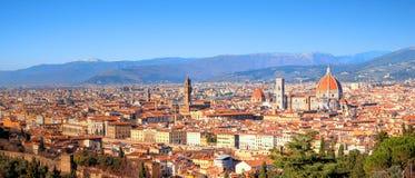 Florence in Italië - Europa royalty-vrije stock foto's