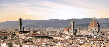 Florence in Italië - Europa stock foto
