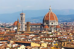 Florence, Italië Mening van Michelangelo Square royalty-vrije stock fotografie