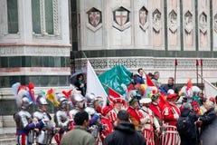 De viering van Pasen in Florence Royalty-vrije Stock Afbeeldingen