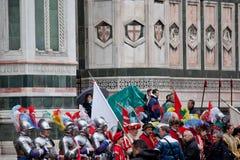 De viering van Pasen in Florence Royalty-vrije Stock Fotografie