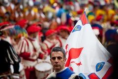 De viering van Pasen in Florence Royalty-vrije Stock Foto
