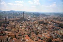 FLORENCE, ITALIE - 20 AVRIL 2010 : Vue aérienne à la ville de Florence Photos stock