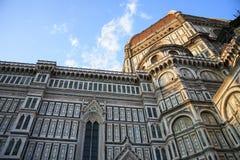 FLORENCE, ITALIE - 16 AVRIL 2010 : Vue de bas en haut au Cattedrale Photographie stock