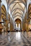 FLORENCE, ITALIE - 19 SEPTEMBRE 2017 : Intérieur de Santa Maria N Photographie stock