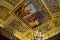 Florence Italien Pitti slott Royaltyfri Bild