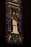 Florence Italien - September 08, 2017: Kyrka av Santa Maria Novella Arkivbild