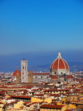 Florence, Italy. Photo was taken in February Stock Photos