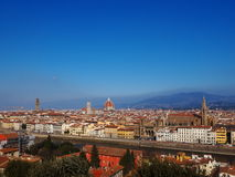Florence, Italy. Photo was taken in February Royalty Free Stock Photos