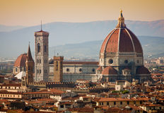 Florence, Italy. Santa Maria del Fiore cathedral in Florence, Italy stock photo