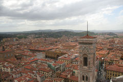Florence Italy from above Stock Photos