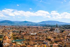 View of Florence, Italy. stock photos