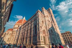 Santa Maria del Fiore church in Florence Royalty Free Stock Image