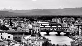 Florence - Italy (B&W) Stock Photography