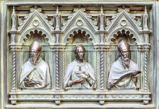Florence italy bas-relief Royalty Free Stock Photos