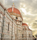 FLORENCE, ITALY. Basilica di Santa Maria del Fiore ( Basilica of Saint Mary of the Flower), Firenze,Italy Stock Images
